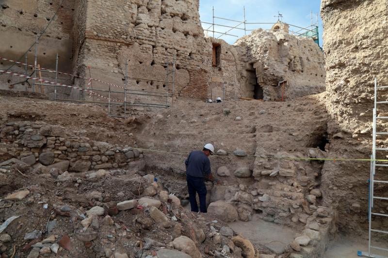 Una muralla 'escondida' en el Albaicín