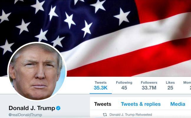 Un empleado de Twitter desactiva la cuenta de Trump en su último día