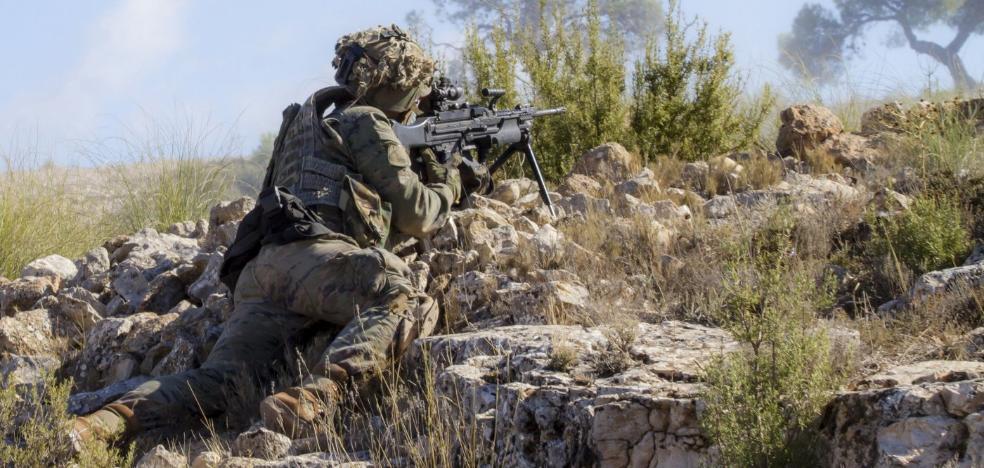 Los legionarios de la OTAN muestran sus capacidades