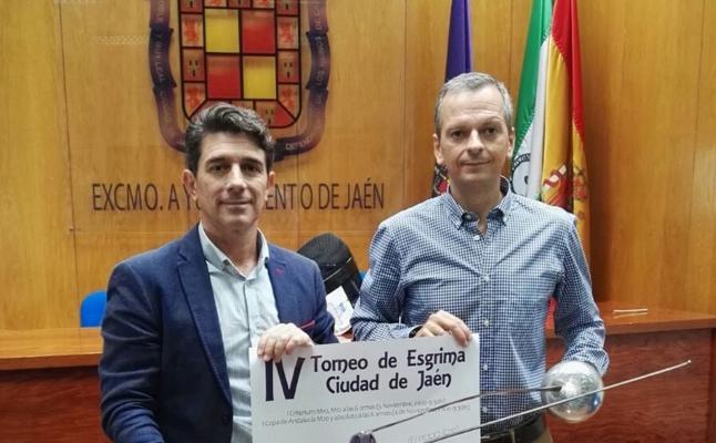 200 tiradores se dan cita este fin de semana en el IV Torneo de Esgrima de Jaén