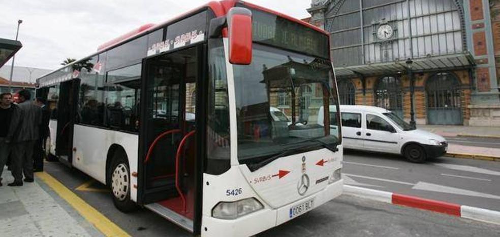 Las obras de tráfico en Los Molinos provocan cambios en los bus 6 y 20 hacia el centro