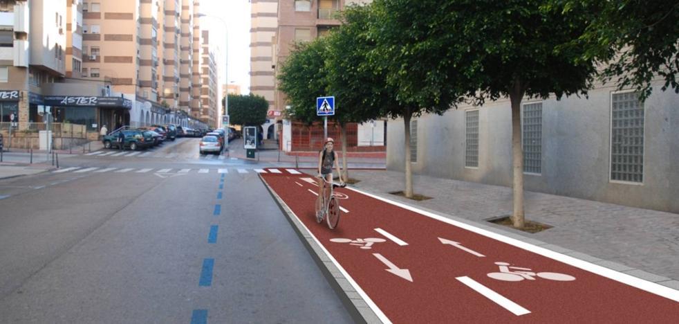 La Junta licitará el carril bici del puente de la Avenida del Mediterráneo por 400.000 euros a principios de 2018