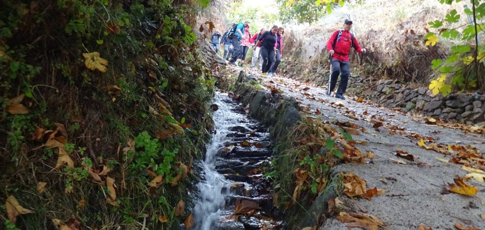 La IX Marcha Popular de la Alpujarra reúne a más de 130 senderistas para recorrer cuatro términos municipales