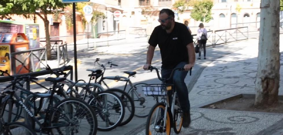 Cómo alquilar una bicicleta en Granada con el móvil