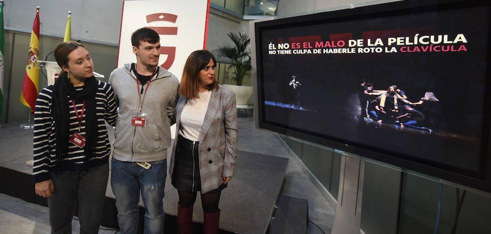 """Crean en Granada un rap que anima a """"parar el ritmo"""" de la violencia machista entre los jóvenes"""