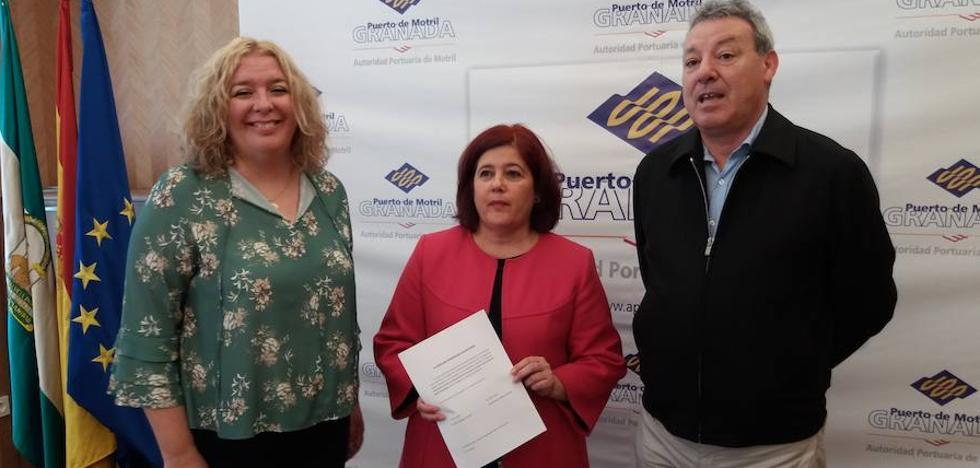El PSOE pide que el Gobierno estudie la fórmula para la conexión ferroviaria del puerto de Motril