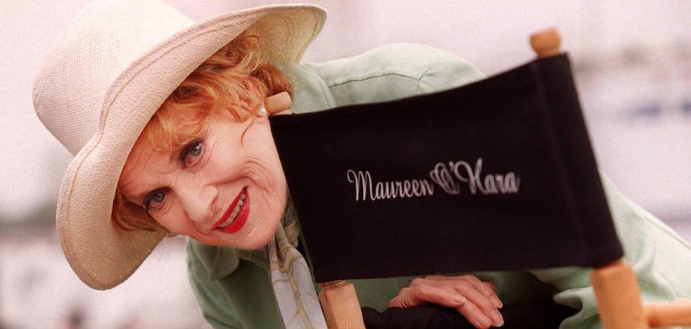 Maureen O'Hara ya denunció acoso sexual en Hollywood hace más de 70 años
