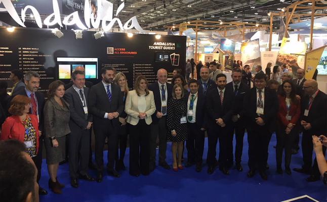 Reyes remarca la oportunidad que ofrece la World Travel Market para promocionar la provincia de Jaén