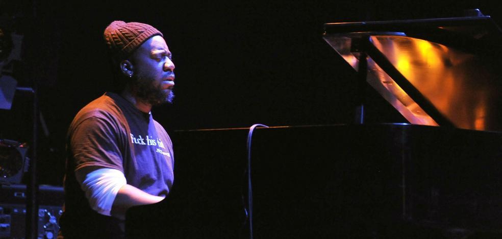 Robert Glasper, piano scratch