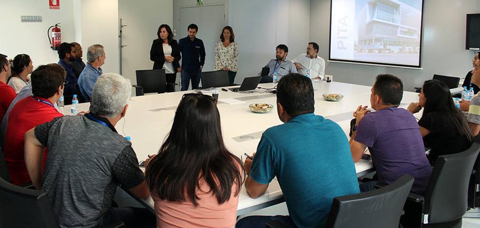 Una delegación brasileña visita el PITA para conocer el potencial agrícola y tecnológico de Almería