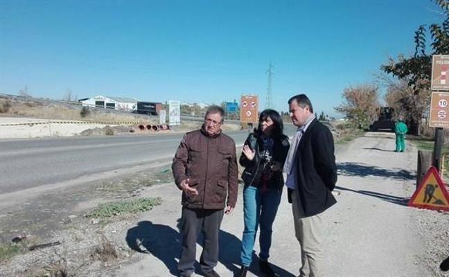 La Diputación invertirá 87.500 euros para reasfaltar y ensanchar varios tramos de la Vía Verde del Aceite