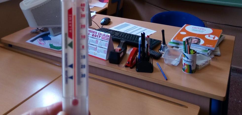 Inspección de Trabajo investiga dos denuncias de directores de Granada por el exceso de calor en las aulas