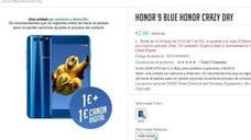 Se desata la locura por comprar el móvil Honor 9 por 1 euro
