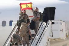 Legionarios parten a Irak para formar tropas contra el yihadismo