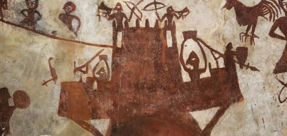 El misterio del extraño mural que desconcierta a los expertos: ¿qué representa realmente?