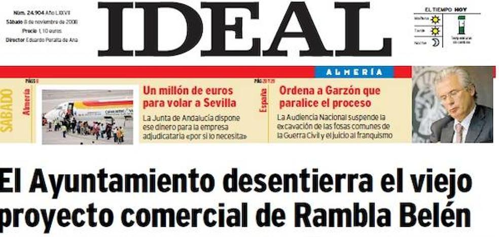 2008: Una docena de seísmos hacen temblar a Almería