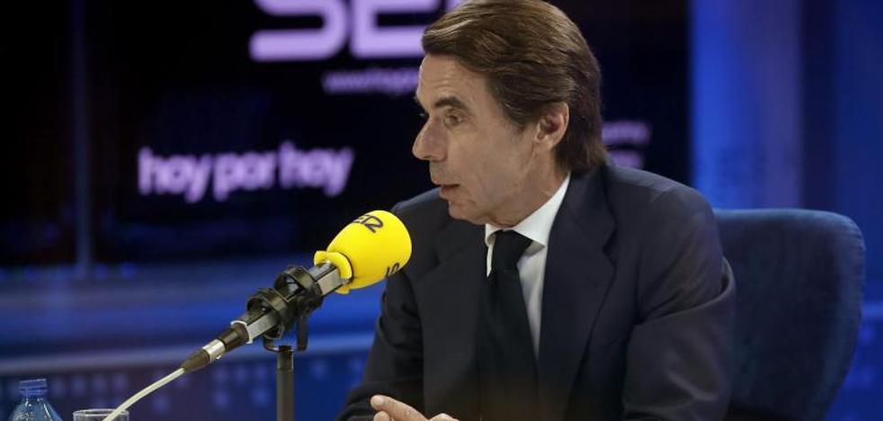 Aznar, sobre Gürtel: «No soy responsable, pero no me siento indiferente»