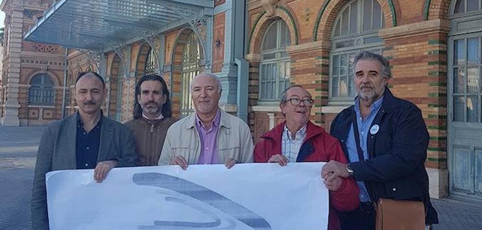 """La Mesa del Ferrocarril rechaza el traslado de la estación y propone un """"bypass"""" ferroviario"""
