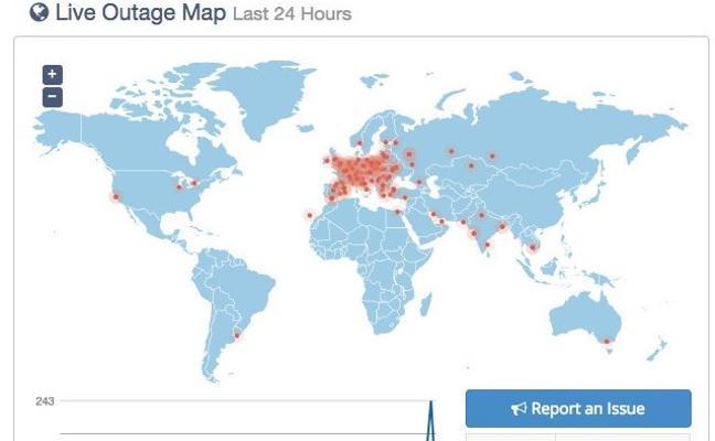 Caída masiva de webs en toda Europa: grave problema en OVH