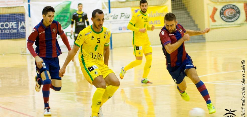 El Jaén FS visita el Cabanyal para ajustar cuentas