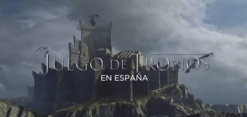 El espectacular vídeo de 'Juego de Tronos' con todas sus escenas rodadas en España