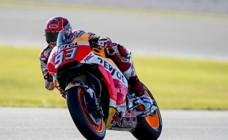 Las mejores imágenes de los entrenamientos del GP de Valencia