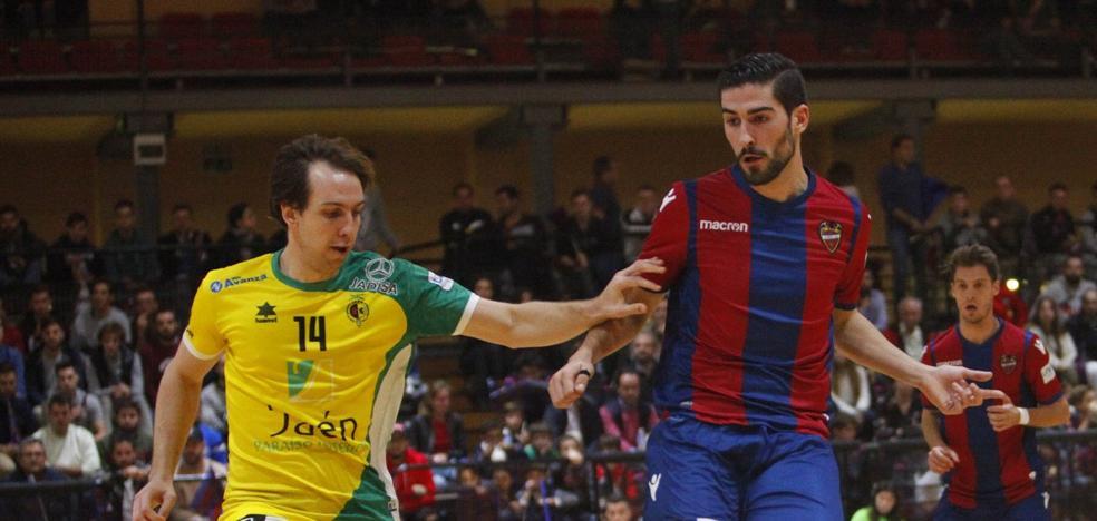 El Jaén FS gana con épica y apunta a la Copa