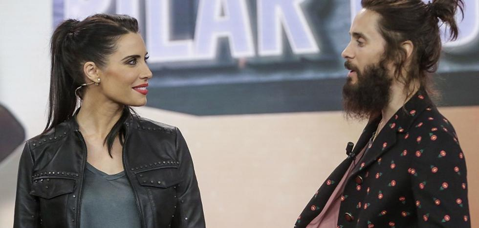 La tensión sexual entre Pilar Rubio y Jared Leto en el plató de 'El Hormiguero'