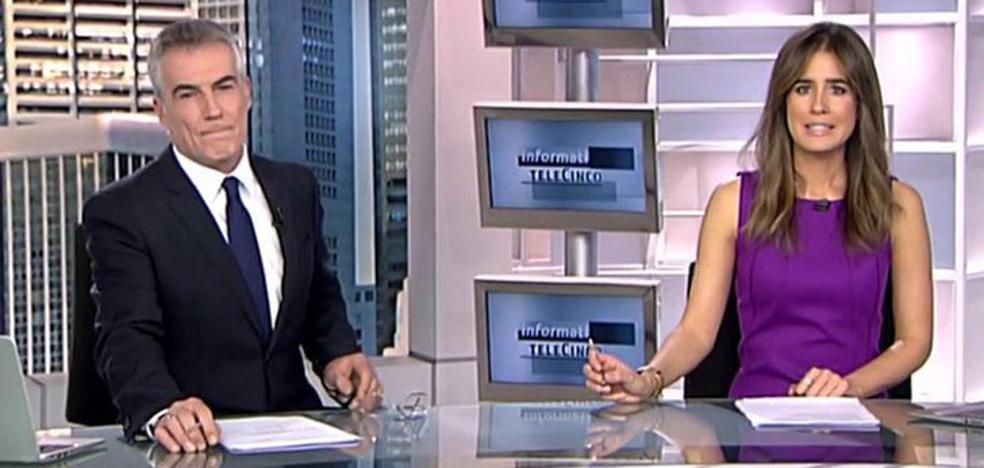 La 'pillada' de Isabel Jiménez en Informativos Telecinco