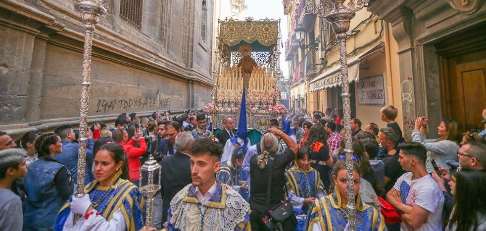 La Borriquilla rechaza salir desde la Catedral