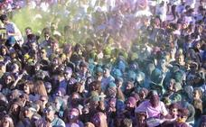 5.000 jóvenes participan en la carrera más colorida