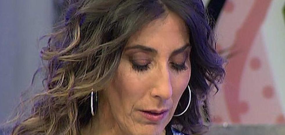 Paz Padilla, rota de dolor por la muerte de Chiquito de la Calzada