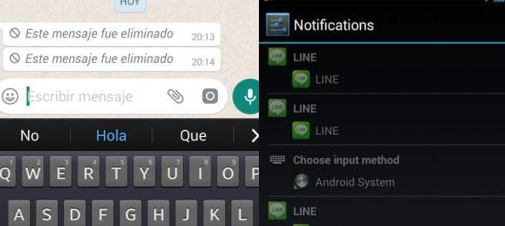 Con este truco podrás ver un mensaje de Whatsapp eliminado por la otra persona