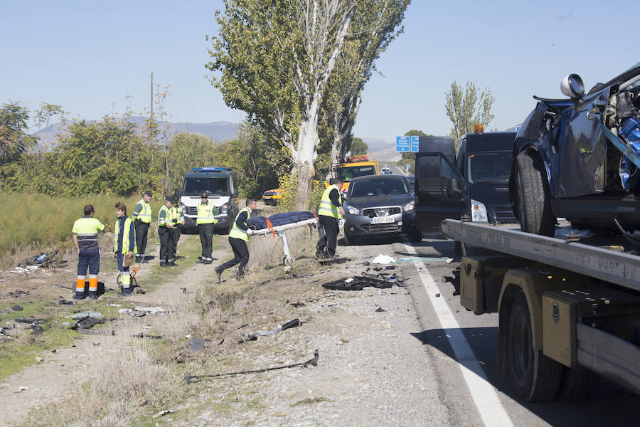 Accidente mortal en la carretera al aeropuerto de Granada