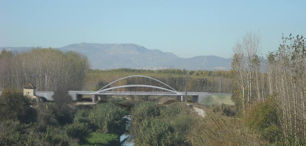 Empieza el montaje de un puente de 110 metros en la segunda circunvalación