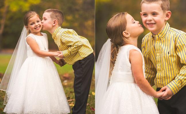 Sueño hecho realidad: el tierno gesto de estos dos niños conmueve a las redes sociales