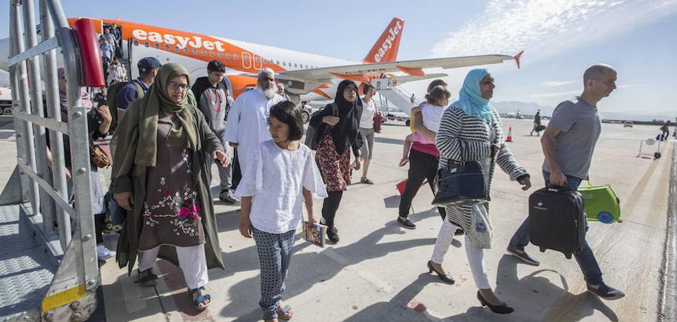 Los pasajeros del aeropuerto de Granada-Jaén crecen en octubre casi un 34%