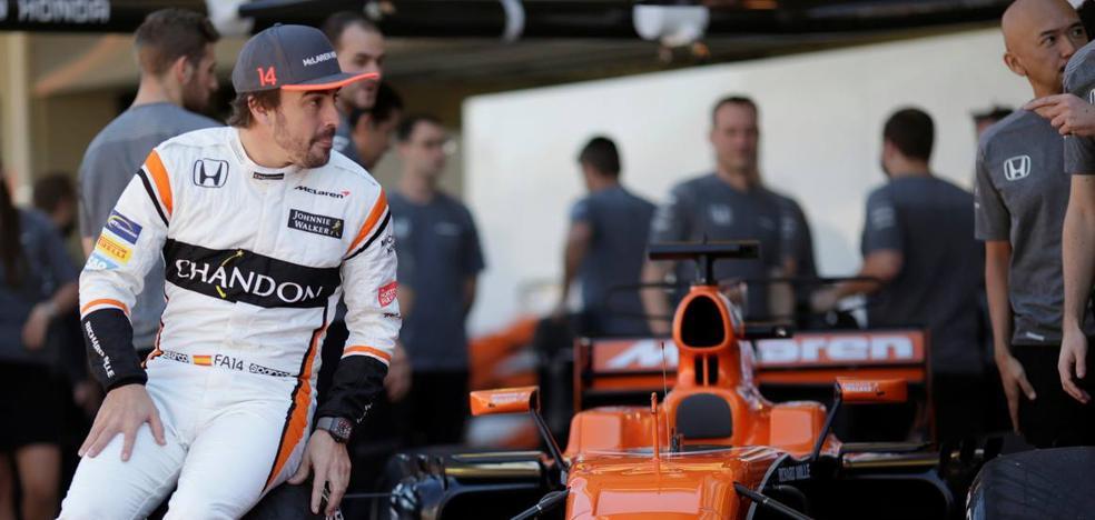 Alonso, a 305 kilómetros del final del túnel