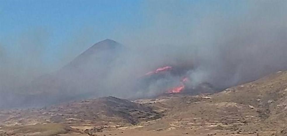 Los incendios forestales queman 156,8 hectáreas este año, 116 de ellas en el Cabo de Gata