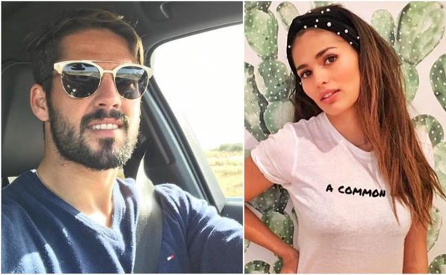 Pillan a Isco y su novia actriz en pleno 'calentón' en la calle