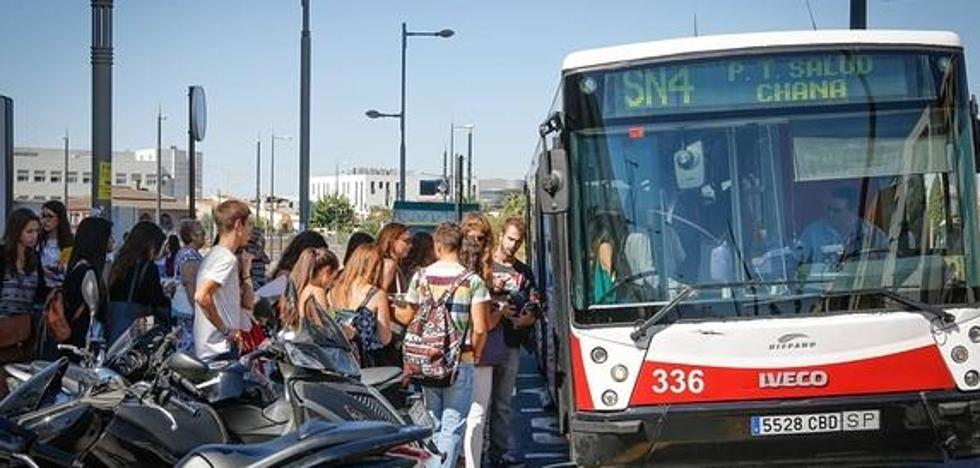 Cambian sus horarios los autobuses C1, C3 y SN4