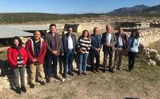 Cultura destina 360.000 euros a trabajos de recuperación y preservación de la villa romana de Bruñel, en Quesada