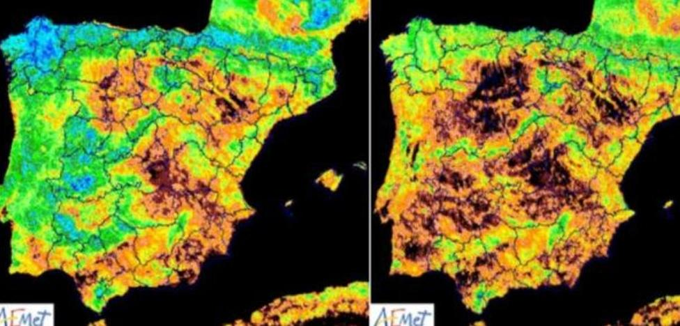Las fotos de la alarma: así ha quedado España tras 3 años de sequía