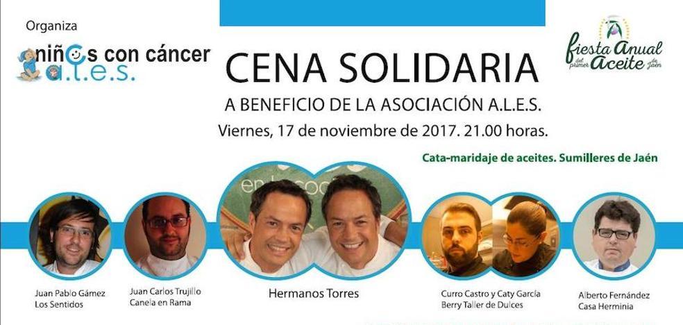 Linares acoge el próximo viernes una cena solidaria a favor de Ales