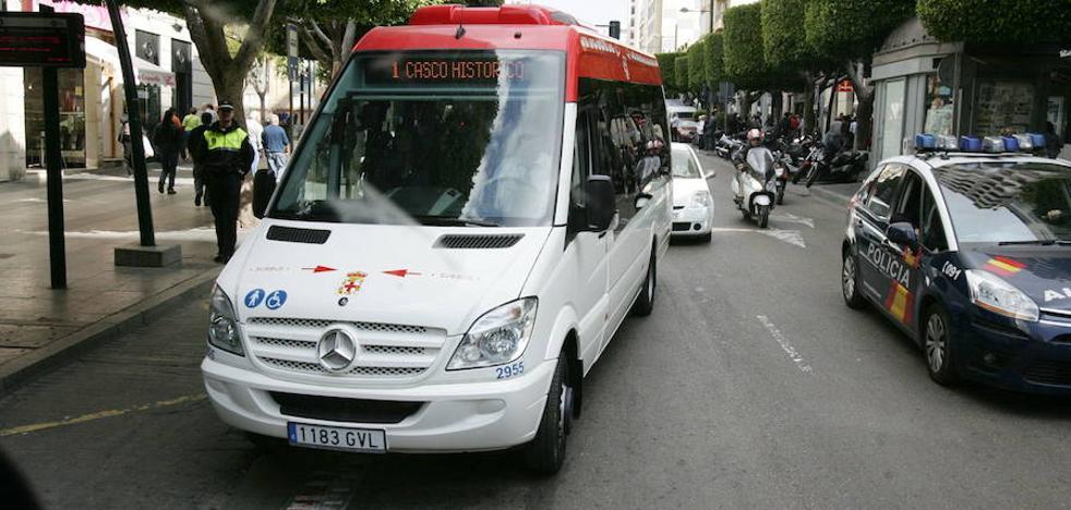 La línea 1 del bus cambia de recorrido y deja a Oliveros sin parada hacia la Intermodal