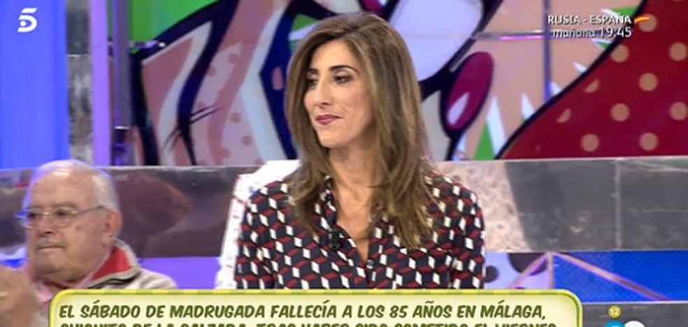 El momento más duro y triste de Paz Padilla en 'Sálvame'
