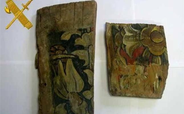 Recuperan en Bailén fragmentos del artesonado del siglo XV de una iglesia de Valladolid sacados a subasta