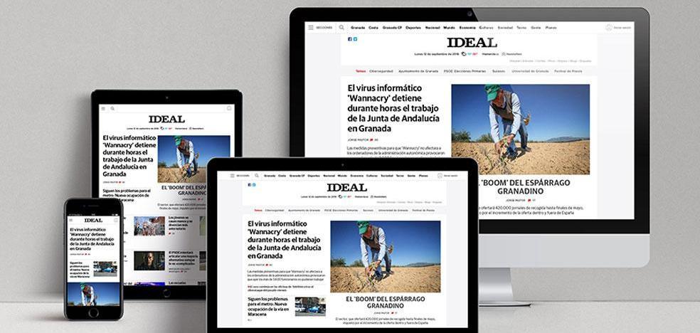 La web de IDEAL obtiene el premio al mejor rediseño del año