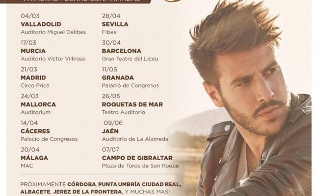 Antonio José ofrecerá un concierto en Jaén el 9 de junio
