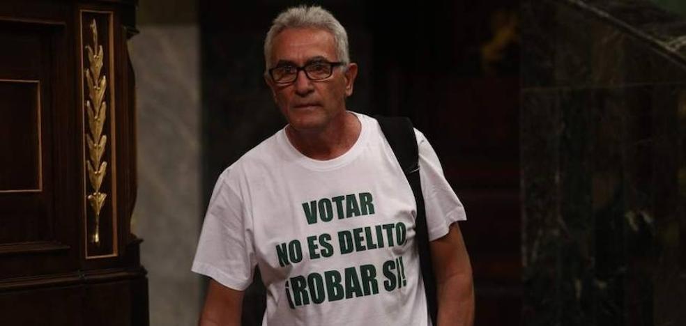 """Podemos no pedirá el escaño a Cañamero por su causa abierta en el TS porque no """"criminalizan"""" la """"lucha social"""""""